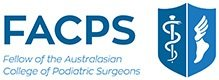 Fellow of the Australasian College of Podiatric Surgeons